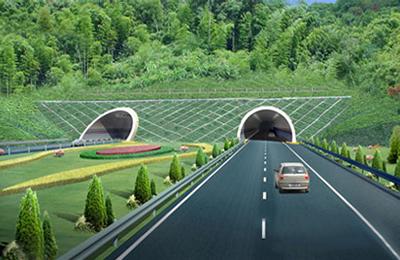 龙庆高速公路(效果图)2