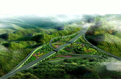 龙庆高速公路(效果图)