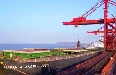 宁波北仑港码头